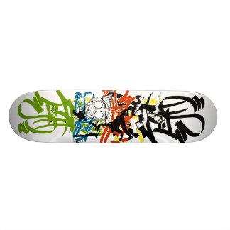 Style graf sk8board skateboard