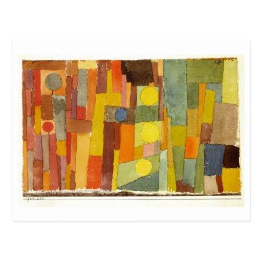 Style of Kairouan by Paul Klee Postcard