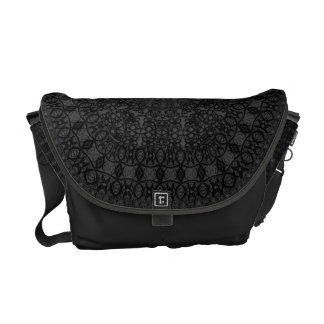 Style Of Lacework Pattern - Messenger Bag - lace