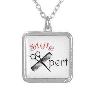 Style Pert Square Pendant Necklace