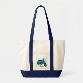 Style Scooter Tote Bag