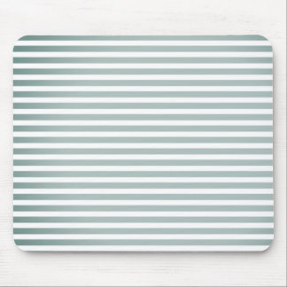 """Style"" Silver-Fog-White Stripes-Unisex Mouse Mat"