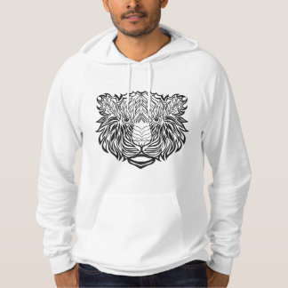 Style Tiger Head Hoodie