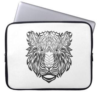 Style Tiger Head Laptop Sleeve