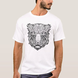 Style Tiger Head T-Shirt