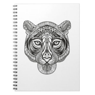 Style Tiger Spiral Notebook