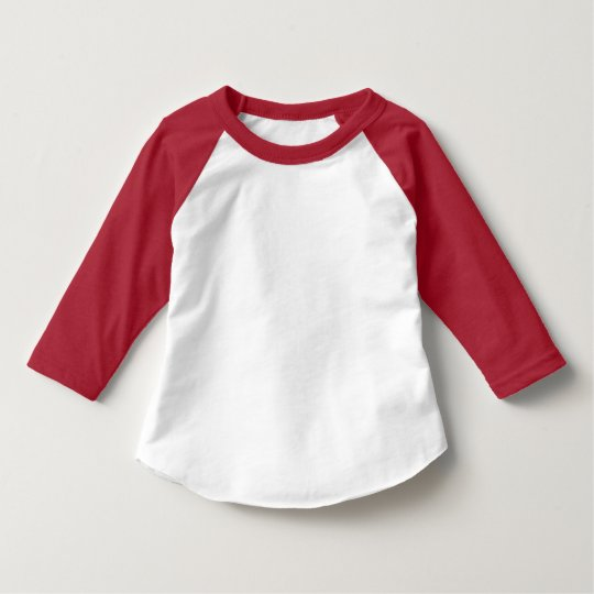 Style: Toddler American Apparel 3/4 Sleeve Raglan T-Shirt