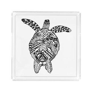 Style Turtle Acrylic Tray
