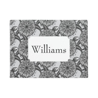 Style Turtle Pattern | Add Your Name Doormat