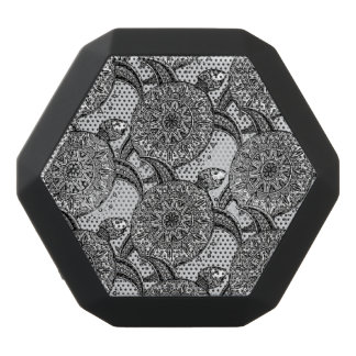 Style Turtle Pattern Black Bluetooth Speaker