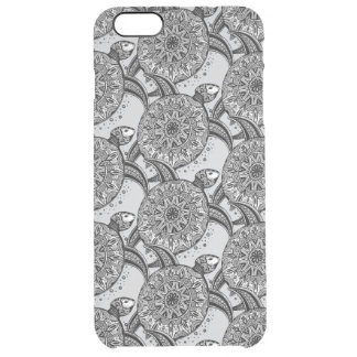 Style Turtle Pattern Clear iPhone 6 Plus Case