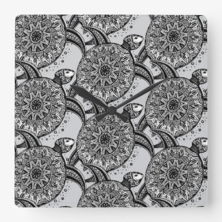 Style Turtle Pattern Wallclock