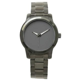 Style: Unisex Oversized Black Bracelet Watch