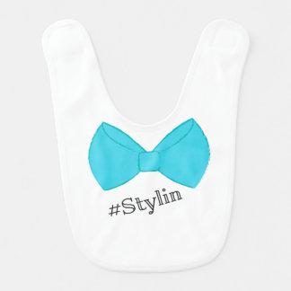 #Stylin - Blue Bib
