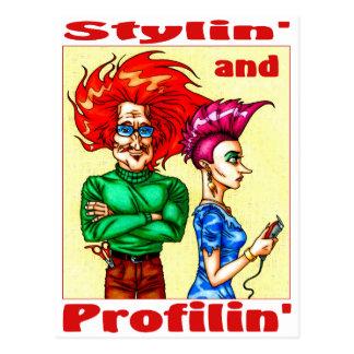 Stylin' & Profilin' Postcard