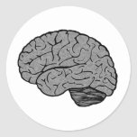 Stylised Brain Stickers