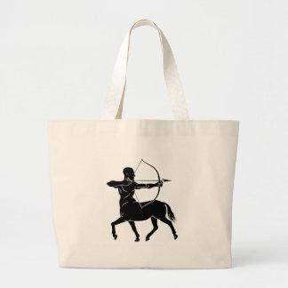 Stylised Centaur Archer Large Tote Bag