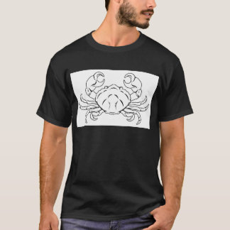 Stylised Crab illustration T-Shirt