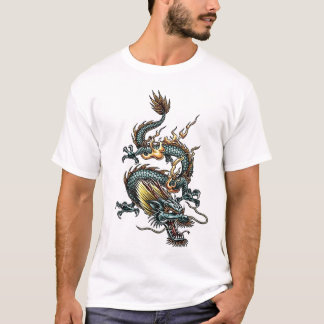 Stylised Dragon 07 T-Shirt