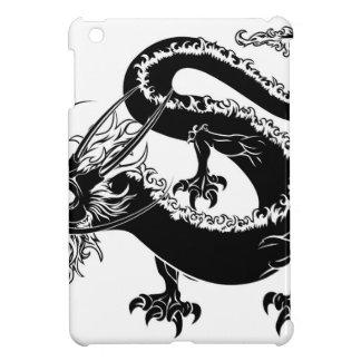 Stylised dragon illustration iPad mini cases
