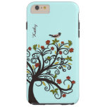 Stylised Fall Tree with Bird iPhone 6 Plus Case