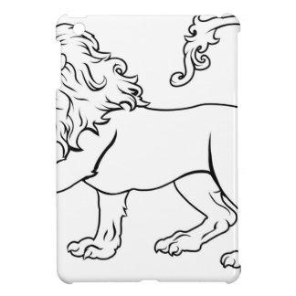 Stylised Lion illustration Cases For iPad Mini