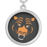 Stylised orange tiger
