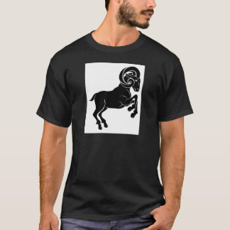 Stylised ram illustration T-Shirt