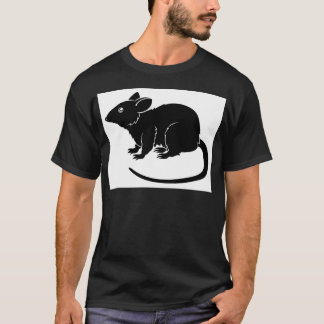 Stylised rat illustration T-Shirt