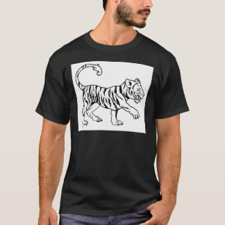 Stylised tiger illustration T-Shirt