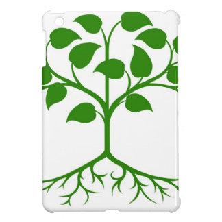 Stylised tree icon iPad mini cover