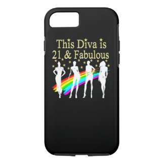 STYLISH 21 & FABULOUS FASHION QUEEN DESIGN iPhone 7 CASE