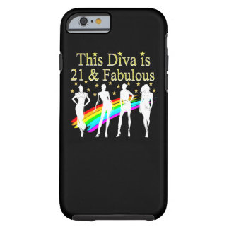 STYLISH 21 & FABULOUS FASHION QUEEN DESIGN TOUGH iPhone 6 CASE