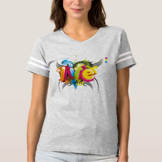 Stylish 3D Typography Shirt