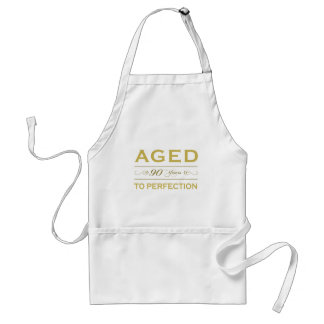 Stylish 90th Birthday Gifts Standard Apron