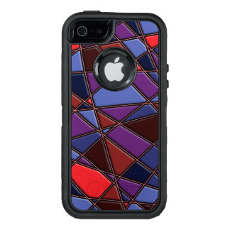 Stylish Abstract Pattern OtterBox Defender iPhone Case