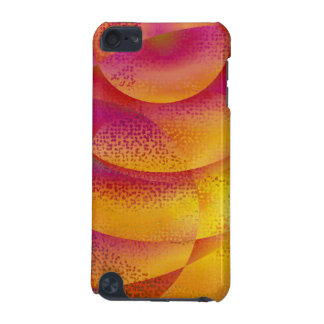 Stylish abstract red Sun iPod Touch 5G Cases