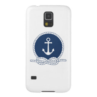 Stylish Anchor And Rope Galaxy S5 Cases