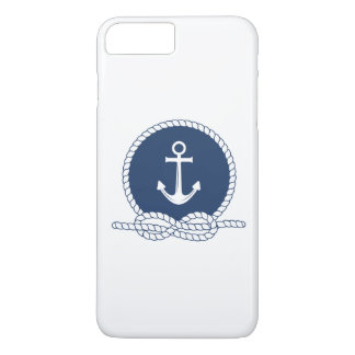 Stylish Anchor And Rope iPhone 8 Plus/7 Plus Case