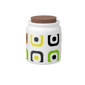 Stylish and Fun with Decorative Retro Chic Candy Jar