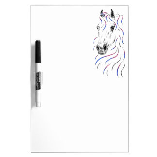 Stylish Arabian Horse Dry Erase Board