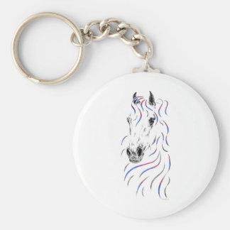 Stylish Arabian Horse Key Ring