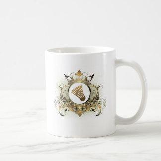 Stylish Badminton Coffee Mug