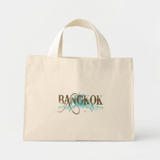 Stylish Bangkok Thailand Mini Tote Bag