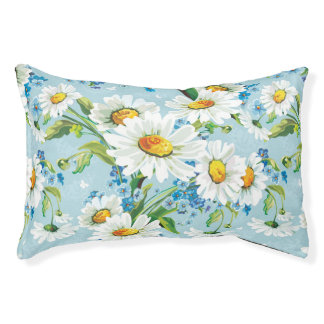 Stylish beautiful bright floral pattern 2 pet bed