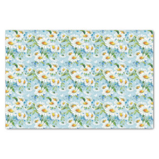 Stylish beautiful bright floral pattern 2 tissue paper