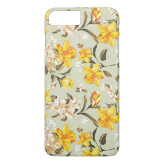 Stylish beautiful bright floral pattern iPhone 8 plus/7 plus case