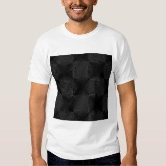 Stylish, black circles design. tee shirt