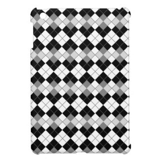 Stylish Black, White and Grey Argyle Pattern Cover For The iPad Mini