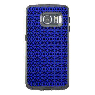 Stylish Blue and Black Pattern